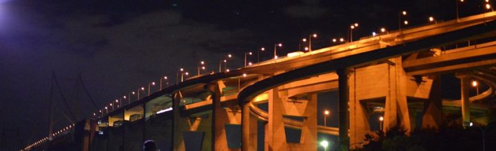 夜の瀬戸大橋 Night Great Seto Bridge