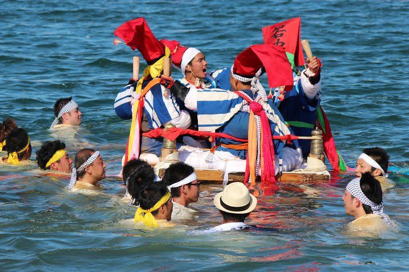 【女木島 8/3,4】島の神様に捧げるお祭り 「女木島 住吉神社大祭」 The shrine festival at Megi island