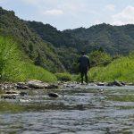 佐那河内村の川をあるく