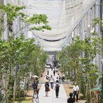 【グッドデザイン金賞】広島県・福山市商店街アーケード「とおり町Street Garden」