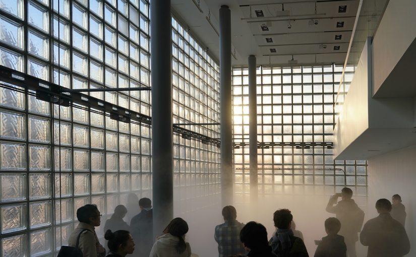 銀座に霧のアートが出現!「グリーンランド」 中谷芙二子+宇吉郎展
