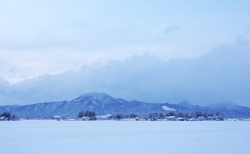 日本最長の山脈、奥羽(おうう)山脈