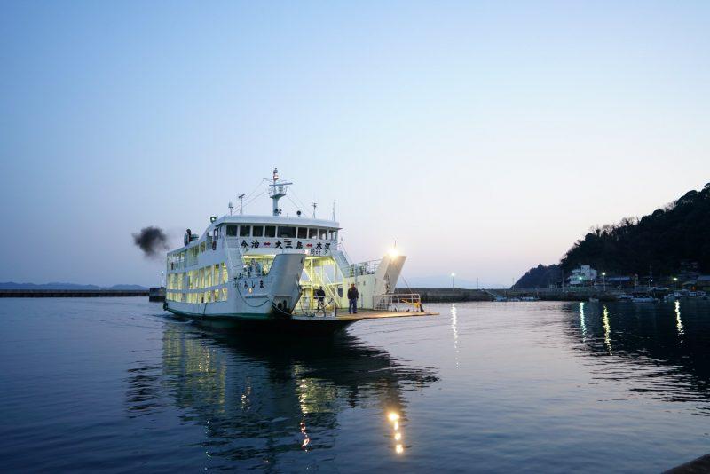 瀬戸の島々を紡ぐ。渡船を巡る旅