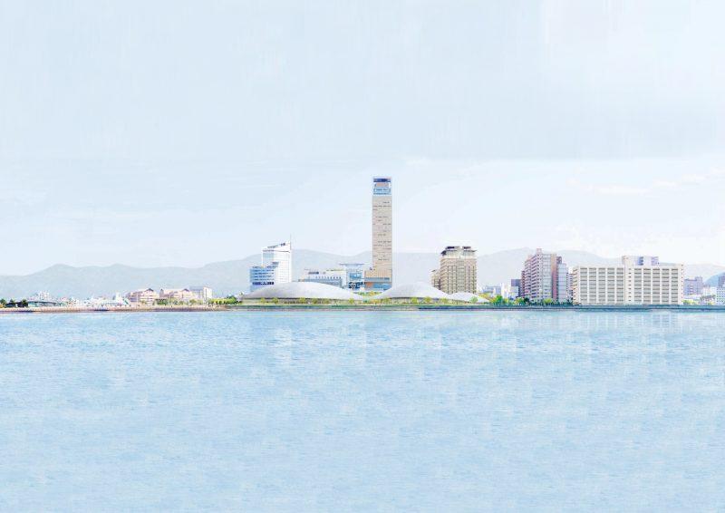 新香川県立体育館の設計、SANAAに決定! – Kagawa pref. arena designed by SANAA