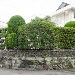 徳島、おとめ石の石積み – Otome stone wall at Tokushima city
