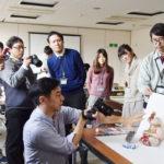 香川県丸亀市の広報アドバイザー。職員むけ写真研修