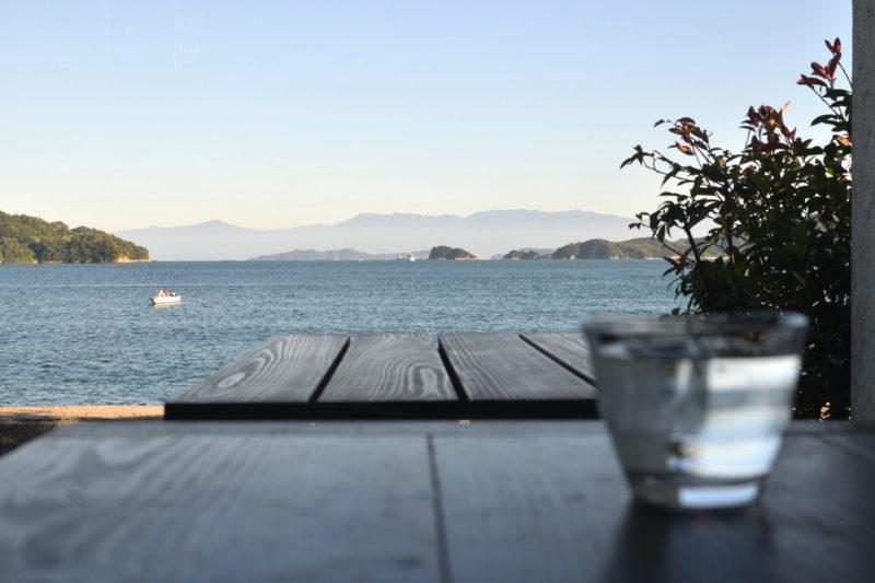 伯方島、海辺のカフェ「玉屋」 – Patisserie T's Cafe Tamaya