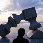 世界的な彫刻家「流政之」 – Japanese sculptor Masayuki Nagare