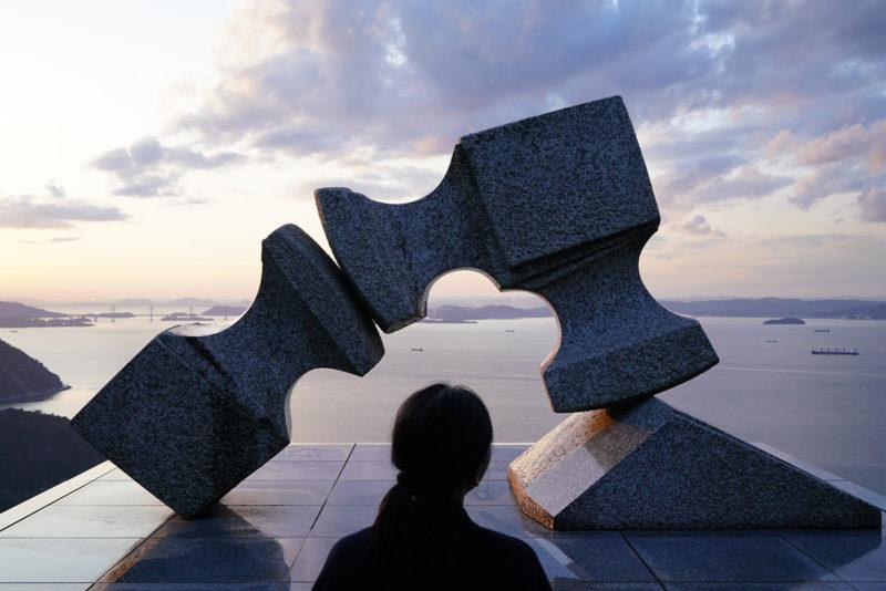 世界的な彫刻家『流政之』 – Japanese sculptor Masayuki Nagare