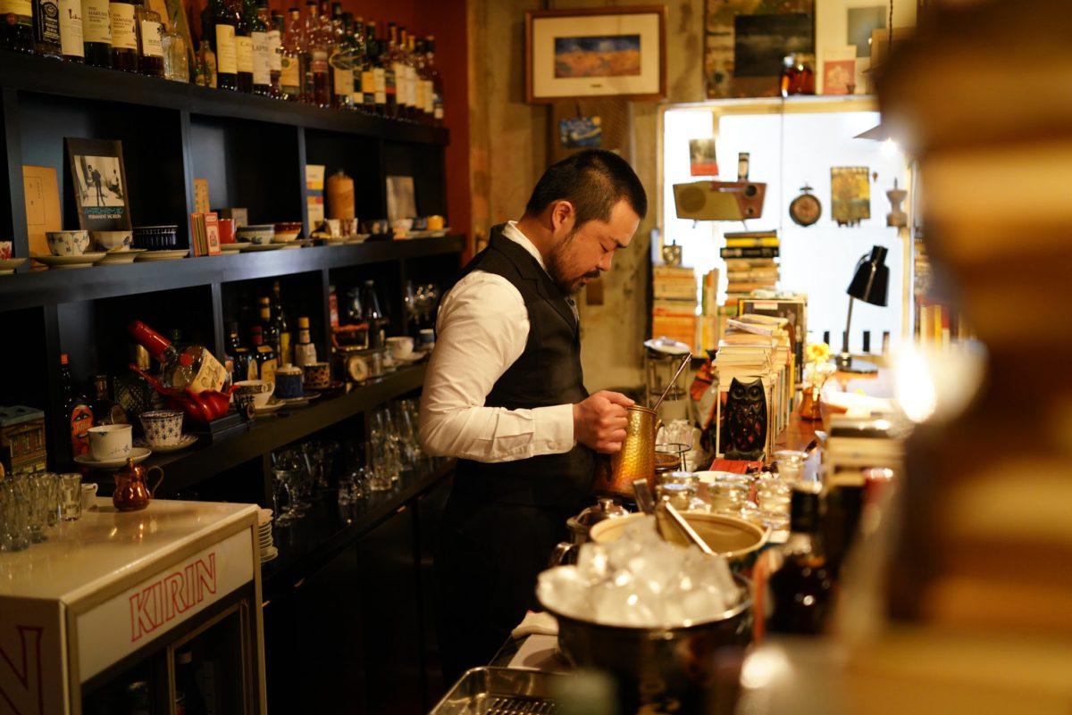 珈琲と本と音楽 『半空(なかぞら)』 – Coffee & bar nakazora