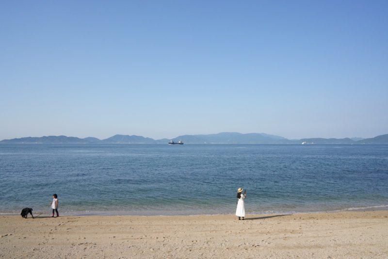 四国最北端の静かなビーチ、竹居観音岬 – Calm beach, Cape Takei at Kagawa pref.