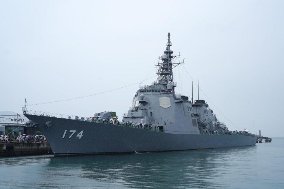 海上自衛隊 護衛艦 きりしま 一般公開 香川 高松