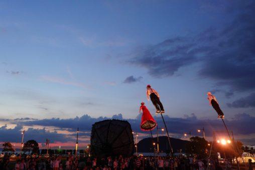 食と音楽と大道芸「SETOUCHI SUMMER NIGHT FESTIVAL」