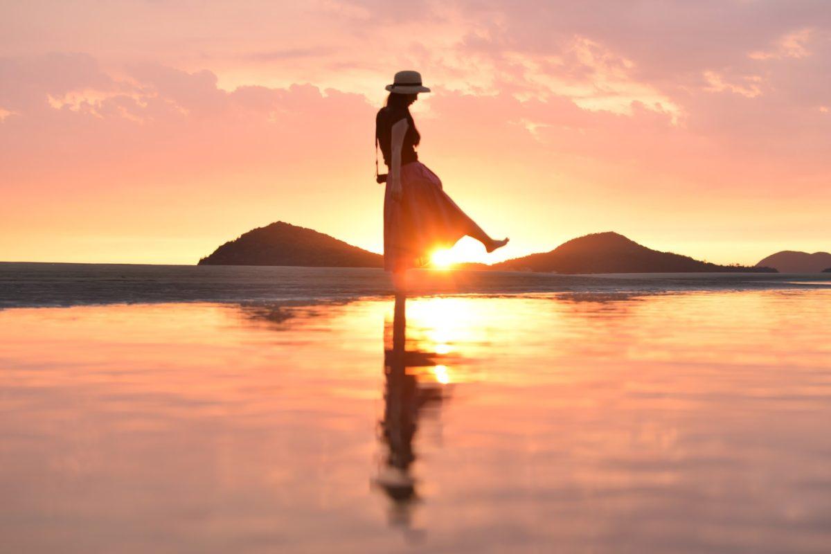 日本のウユニ塩湖 父母ヶ浜(ちちぶがはま)