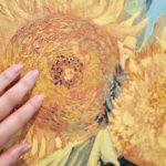 ゴッホのヒマワリに触れる! – Touch the Sunflowers of Van Gogh