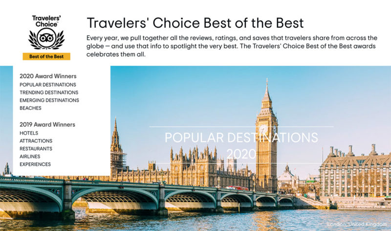 Travelers' Choice Best of the Best
