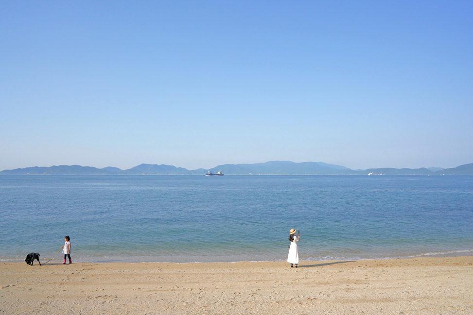 "【四国最北端】瀬戸内の白い砂浜『竹居観音岬』 – [Kagawa] ""Cape Takei-kannon"" Beautiful beach of Takamatsu city"