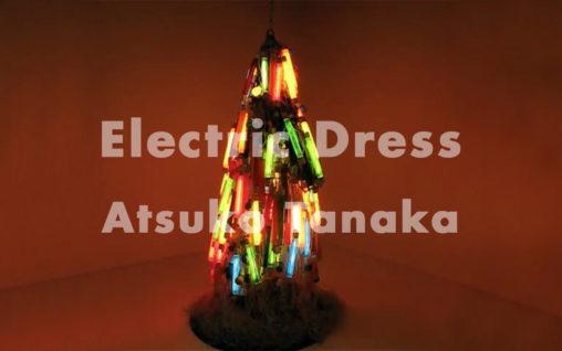 田中敦子『電気服』Electric Dress by Atsuko Tanaka