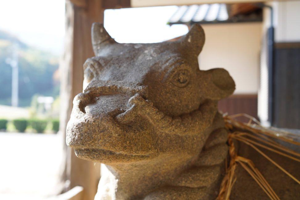 【小豆島】疫病を防ぐ神、牛頭天王を祀る神社。1300年以上も前に国営の牛の牧場跡!八坂神社の官牛放牧之跡 - Yasaka shrine of Shodoshima island