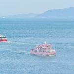 """【香川】高松港〜女木島〜男木島を34年間繋いできたフェリー『めおん』が引退し、新造船が就航! –  Retirement and Launching ceremony for ferry """"Meon"""""""