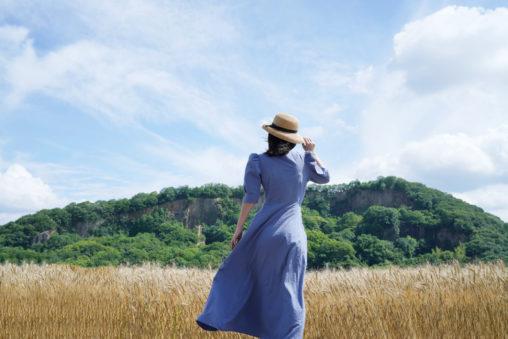 麦秋(ばくしゅう)の讃岐平野 - Wheat field of Sanuki