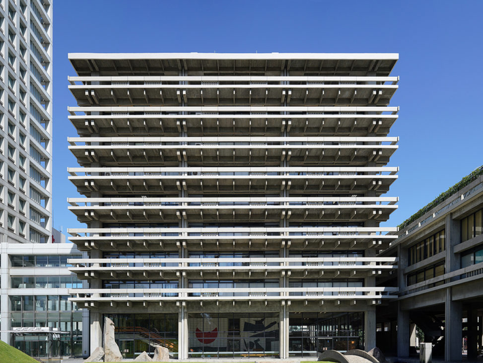 丹下健三さん設計の香川県庁舎 - Kagawa Prefecture Public Office Building by architect Kenzo TANGE