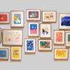 企画展「うにのれおな クレヨン画展」|高松市